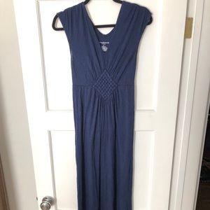 Liz Lange Maternity for target blue maxi dress